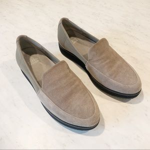 Eileen Fisher Dell Suede Loafer